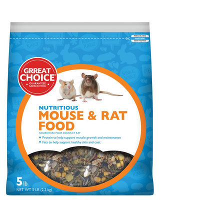 Grreat Choice Mouse & Rat Food