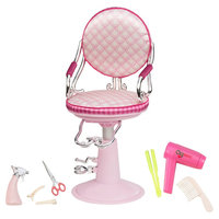 Our Generation Salon Chair (Pink / Ivory)