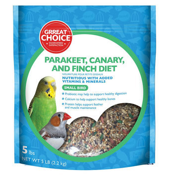 Grreat Choice® Small Bird Food size: 5 Lb