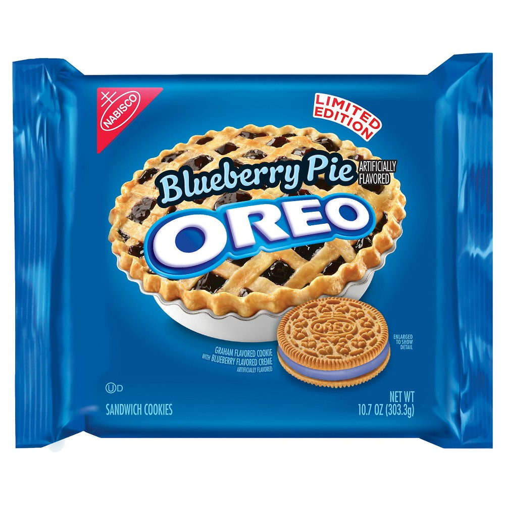 Nabisco Oreo Blueberry Pie Cookie