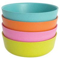 Biobu by Ekobo Bambino 6in Bowls - Set of 4, Blue