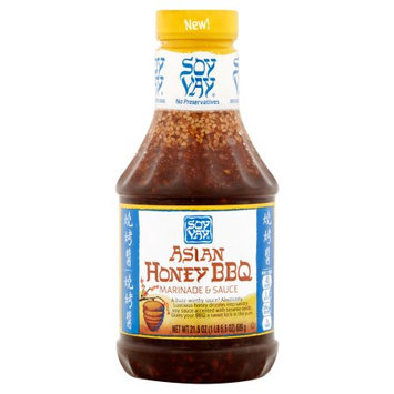 Soy Vay Enterprises, Inc. Soy Vay, Sauce Asian Honey BBQ, 21.5 Oz (Pack Of 6)