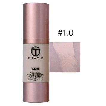 Franterd Concealer - 4 Colors Foundation Make Up - Basis Face Glow Liquid Foundation Cream