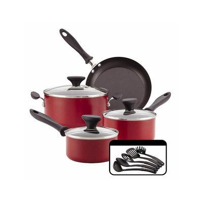 Farberware 12Pc Cookset Red