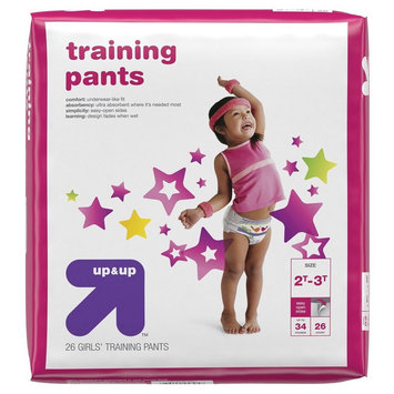 Girl Training Pants Jumbo Pack 2T-3T (26 ct) - up & up