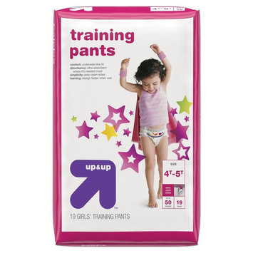 Girl Training Pants Jumbo Pack 4T-5T (19 ct) - up & up
