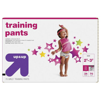 up & up Girl Diapers, Giga Pack - Size 2T-3T (70 Count)