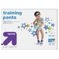 up & up Boy Diapers, Giga Pack - Size 3T-4T (62 Count)