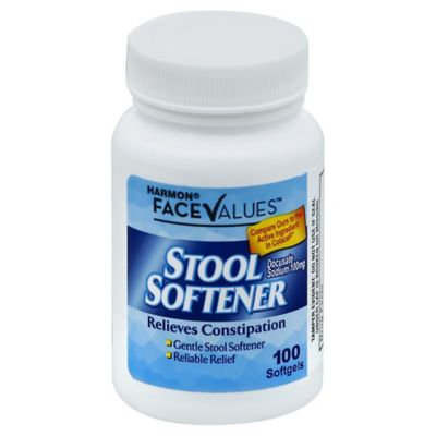 Harmon® Face Values™ 100-Count Stool Softener Softgels