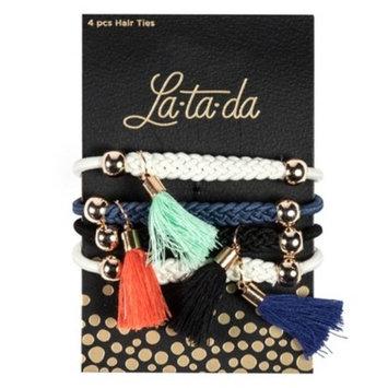 La-ta-da Tassel Hair Ties - 4pc