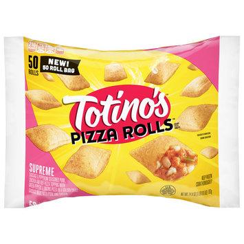 Totino's Pizza Rolls, Supreme, 50 Rolls, 24.8 oz Bag