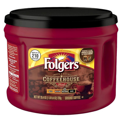 Folgers Coffeehouse Blend Ground Coffee 25.4oz
