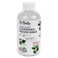 Dr. Brite Cleansing Mouth Rinse, Mint, 8 Oz