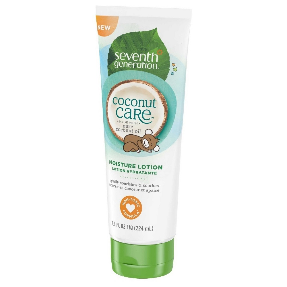 Seventh Generation Moisturizing Lotion, Coconut - 7.6oz