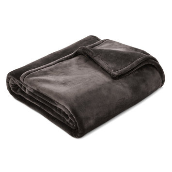 Microplush Bed Blanket Twin Hot Coffee - Threshold