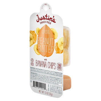 Justin's Classic Peanut Butter with Banana Chips Snack Pack - 1.3 oz