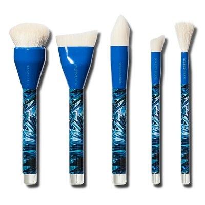 Sonia Kashuk Air-Brushed Skin 5-piece Brush Set, Multi-Colored