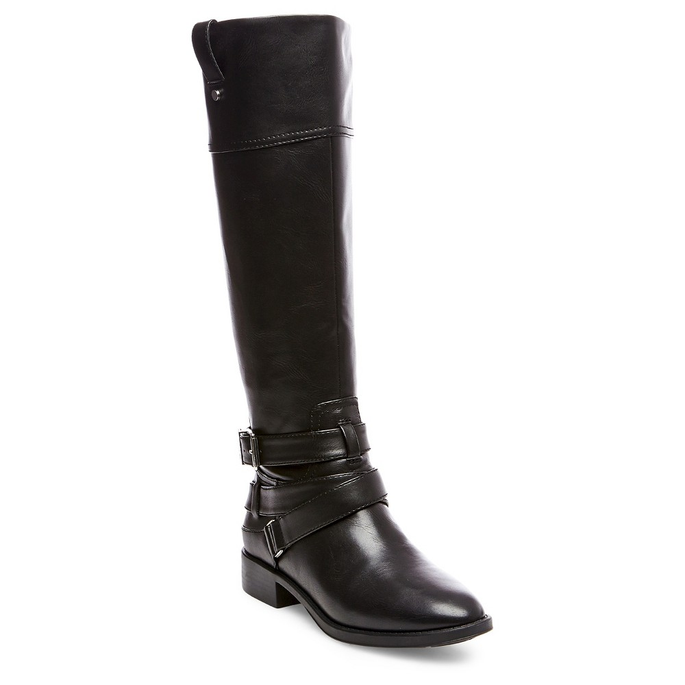 Women's Adelle Riding Boots - Black 8