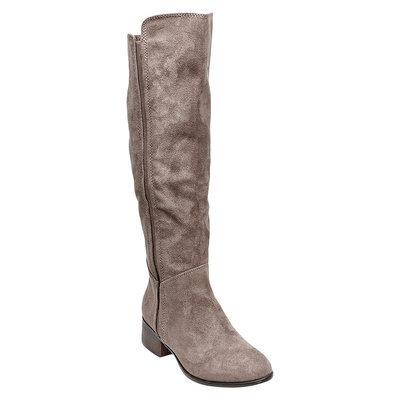 Women's Evie Suede Boots - Grey 10