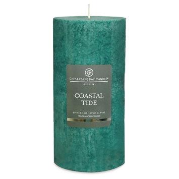 Chesapeake Bay Candle Coastal Tide Mottled (6x3), Blue