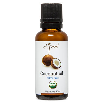 Difeel Pure Essential Coconut Oil 1 oz, Fragrance Oil