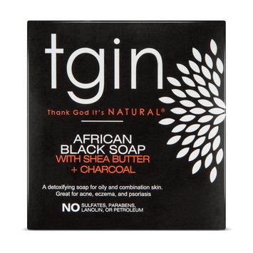 Tgin African Black Soap Bar 4 oz