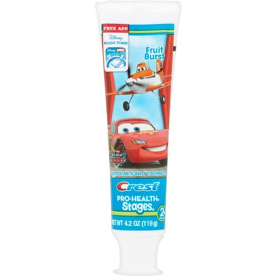 Crest Pro-Health Stages The World of Cars Toothpaste Fruit Burst 4.20 oz
