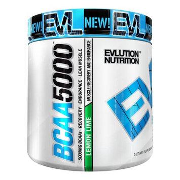 Evlution Nutrition BCAA 5000, Lemon Lime, 9.1 Oz