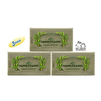 Papoutsanis Pure Olive Oil Bar Soap 3 Pack 3x125g (3x4.4oz)
