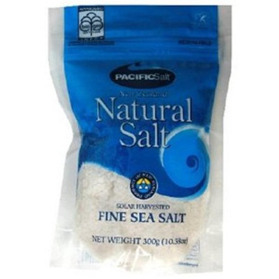 Pacific Salt BCA44760 Fine Sea Salt Bags 6 x 2.2 lbs