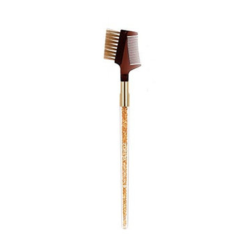 HaloVa Eyebrow Brush, Dual-purpose Beautiful Portable Lash Brush, Durable Lightweight Cosmetic Brush Makeup Tool Makeup Brush