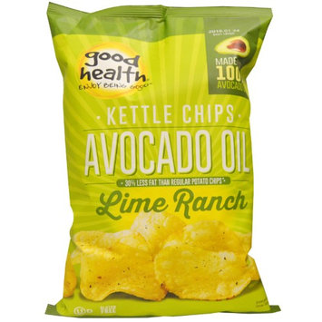 Good Health Natural Foods, Kettle Chips, Avocado Oil, Lime Ranch, 5 oz (pack of 6)
