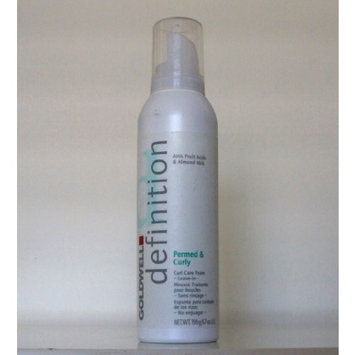 Goldwell Definition Permed & Curly Curl Care Foam Leave In Mousse Treatment 6.7oz (Aerosol)