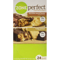 ZonePerfect Nutrition Bar, Chocolate Peanut Butter, Double Dark Chocolate (24 bars)