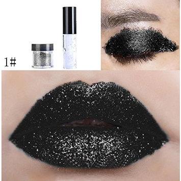 Dragon Ranee Shimmer Glitter Lip Gloss Powder Palette Glitter Lipstick Cosmetic Eye Shadow by DMZing (LE-01)
