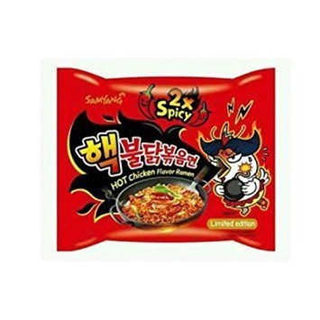 Samyang 2X Spicy Hot Chicken Flavor Ramen, 5Pack (140 g Each) Wdfgw