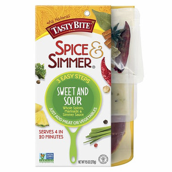 Tasty Bite Spice & Simmer, Sweet & Sour, 9.5 Ounce [Sweet & Sour]