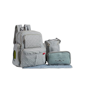 SoHo Collection, Manhattan 5 pieces Diaper BackPak Set * Limited Tme Offer! *