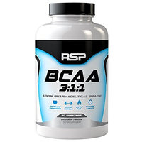 Rsp Nutrition BCAA 3:1:1 - 200 Capsules