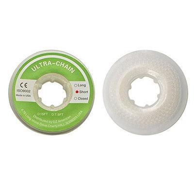 Wecando Dental Orthodontic Elastic Chain Power Chains Brace Orthodontic Spool Elastic Rubber Band