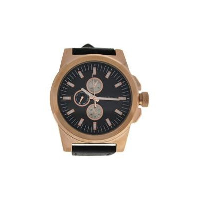 Louis Villiers Lvag3733-2 Rose Gold/Brown Leather Strap Watch Watch For Men 1 Pc