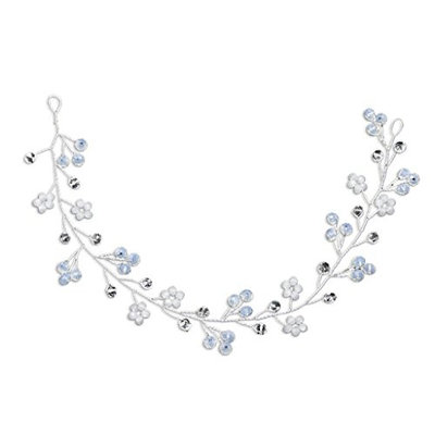 Kalttoyi Bride Crystal Hair Band, Women Jewelry Wedding Headband, Luxury Decoration Beaded