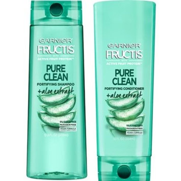 Garnier Fructis Pure Clean Fortifying Shampoo & Conditioner Set, 12.5 fl oz and 12 fl oz (Set Contains 2 Items) : Beauty