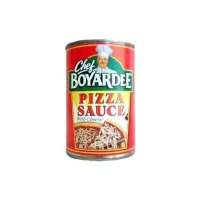 Chef Boyardee Pizza Sauce with Cheese 15oz (Pack of 6)