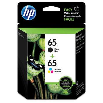 HP 65 Color Combo Pack Ink - Black ( T0A36AN 14)