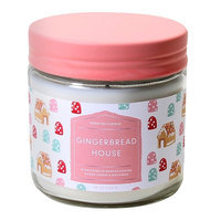 Jar Candle - Gingerbread House, Pink