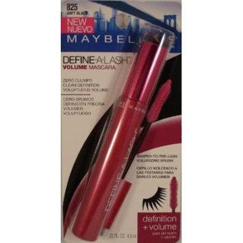 Maybelline Define-A-Lash Volume Mascara #825 Soft Black (2 Per Pack)