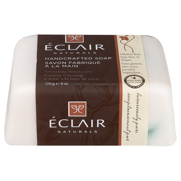 Eclair Naturals Handcrafted Bar Soap Creamy Coconut 6 oz