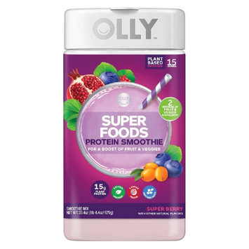 Olly Super Foods Smoothie Super Berry - 22.5oz