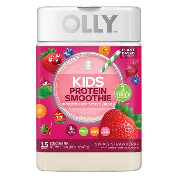 Olly Kids Smoothie Swirly Strawberry Protein Powder
